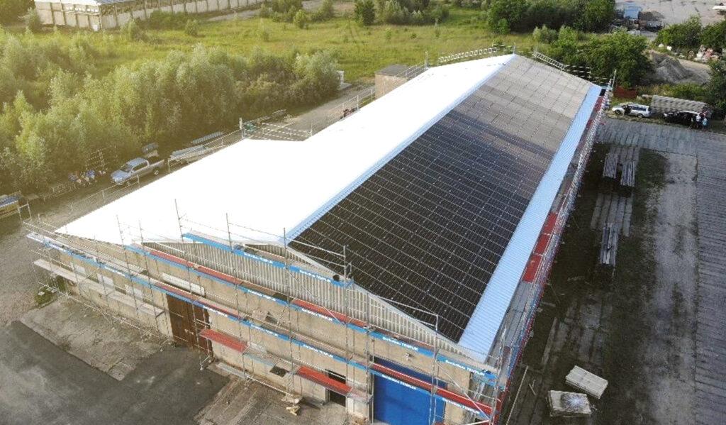Suncatcher Solaranlagen Asbestsanierung