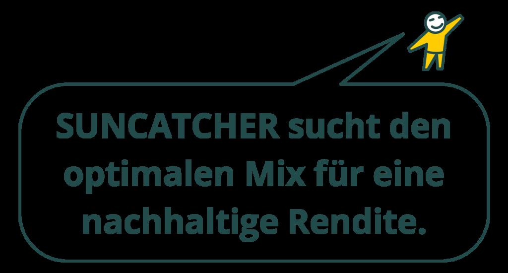 Suncatcher - Mit Solaranlagen Renditen erwirtschaften.